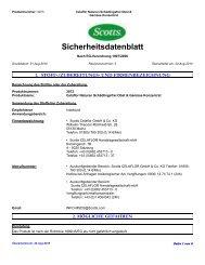 Sicherheitsdatenblatt - ingadi.de