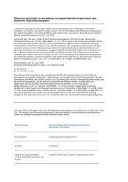 BBA - Pflanzenschutzmittel zur Herstellung im ... - Schneckenprofi