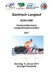Ausschreibung - Regionalverband Schneesport Mittelland