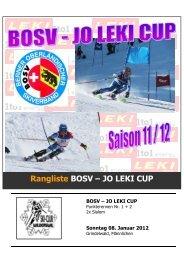 BOSV-JO Leki Cup - Regionalverband Schneesport Mittelland