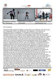 Bericht - Regionalverband Schneesport Mittelland
