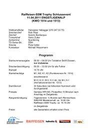 Ausschreibung Schlussevent SSM 2011 - Regionalverband ...