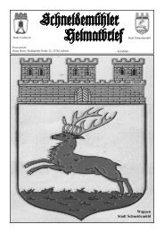schneidemühler heimatbrief extrablatt.qxp - Schneidemuehl.net