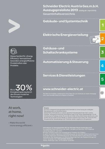 Gesamtinhalt - Schneider Electric