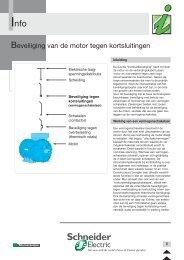 Beveiliging van de motor tegen kortsluitingen