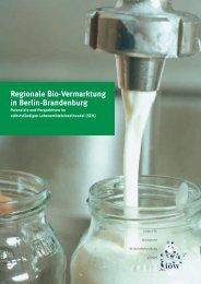 Regionale Bio-Vermarktung in Berlin-Brandenburg