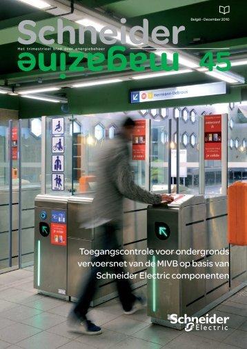 Toegangscontrole voor ondergronds vervoersnet van de MIVB op ...