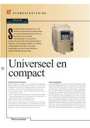 Universeel en compact