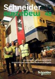 Un atelier de traction de la SNCB modernise ses vérins avec ...