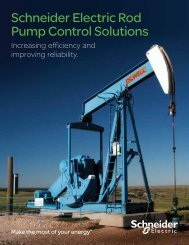 Schneider Electric Rod Pump Control Solutions