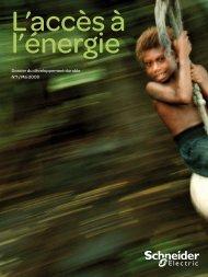 Dossier du développement durable N°1 / Mai 2008