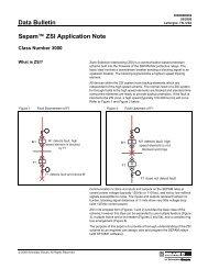 3000DB0902 ZSI Application Note - Schneider Electric