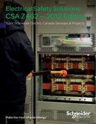 CSA Z462 — 2012 Edition - Schneider Electric