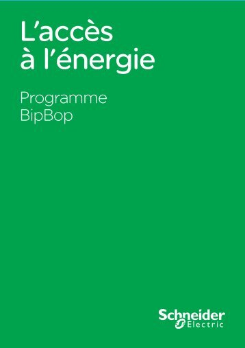 Brochure BipBop (pdf) - Schneider Electric