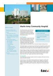 Martin Army Community Hospital - Schneider Electric
