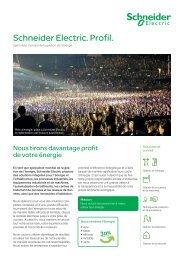 Factsheets Schneider Electric (Suisse) SA