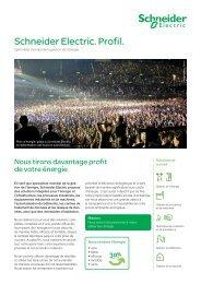 Schneider Electric. Profil. - Schneider Electric (Schweiz)