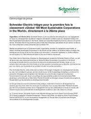 Téléchargez le PDF - Schneider Electric