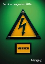 Trainingskatalog 2014 (PDF - 10,5 MB) - Schneider Electric