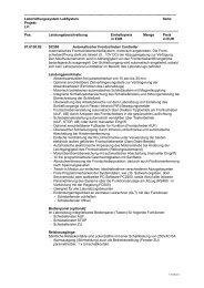 Ausschreibungstext SC500 - Schneider Elektronik GmbH