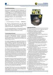 FC500-Ex Laborabzugsregelung - Schneider Elektronik GmbH