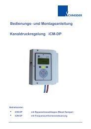 Bedienungsanleitung iCM-DP - Schneider Elektronik GmbH