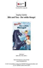 Bibi und Tina - Der wilde Hengst - Buecher.de