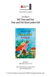 Tina und Tini Tina und Tini lösen jeden Fall - Egmont Schneiderbuch