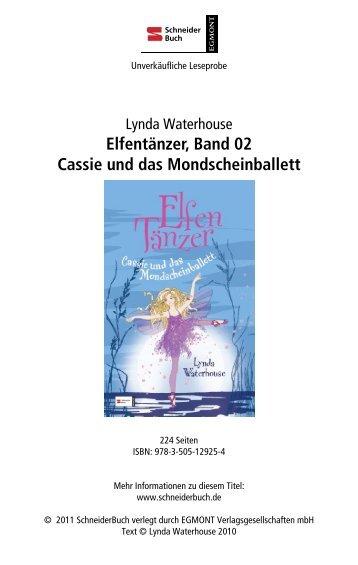 Elfentänzer, Band 02 Cassie und das Mondscheinballett - Egmont ...