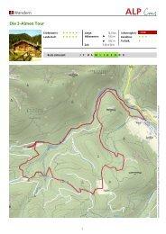 Wandern Die 3-Almen Tour - Schneizlreuth