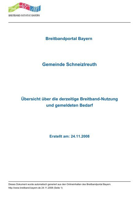 Gemeinde Schneizlreuth