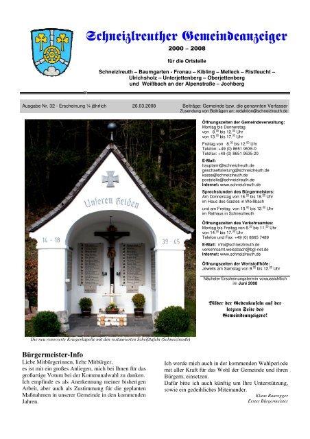 Gemeindeanzeiger 1,08 - Schneizlreuth