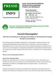 Vorsicht Rutschgefahr - Schneizlreuth