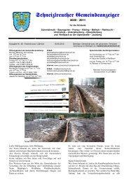 Gemeindeanzeiger 1-12 - Schneizlreuth