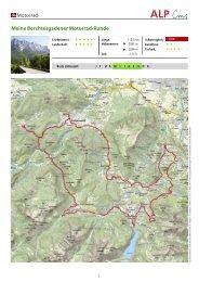 Motorrad Meine Berchtesgadener Motorrad-Runde - Schneizlreuth