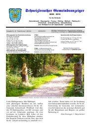 Gemeindeanzeiger 3-10 - Schneizlreuth