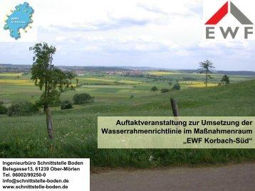 Präsentation (pdf 2,5 MB) - Ingenieurbüro Schnittstelle Boden