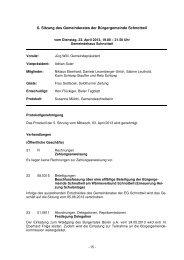 Protokoll vom 23. April 2013