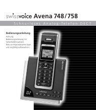 Avena 748/758 - Strahlungsarme Telefone Esnord Gesundes ...