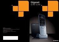 Gigaset SL780-SL785 - Schnurlostelefon.de