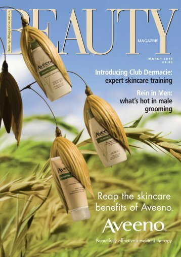 Reap the skincare benefits of Aveeno® - Beauty Magazine