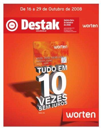 Quinta-feira 16 Outubro de 2008 - Destak
