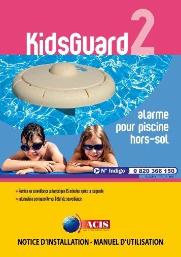 alarme pour piscine hors-sol - Auchan