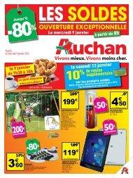 -50% -80% 200€ -80% - Auchan