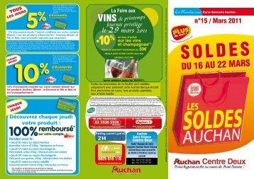 soldes - Auchan