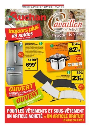 toujours plus - Auchan