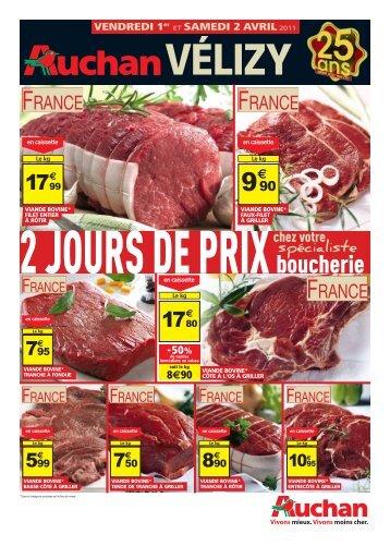 boucherie - Auchan