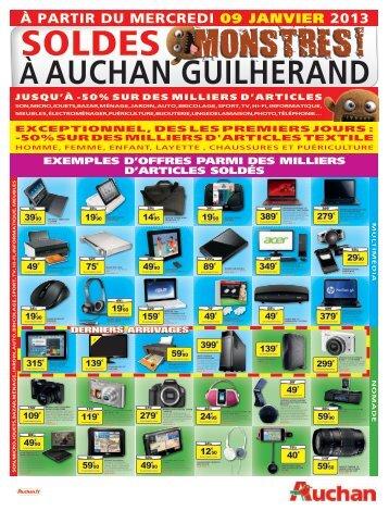 À PARTIR DU MERCREDI 09 janvier 2013 - Auchan