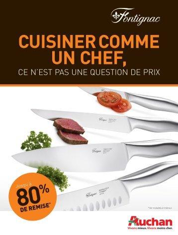 Cuisiner Comme un Chef, - Auchan