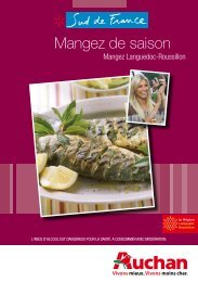 Mangez de saison - Auchan